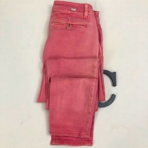 DL1961 Sz 25 Pink Relaxed Fit Trouser Jeans- IRIS